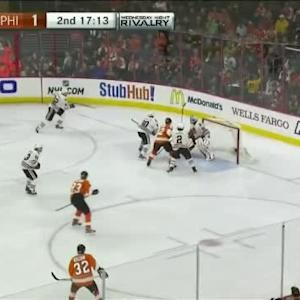 Corey Crawford Save on Claude Giroux (02:49/2nd)