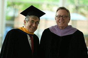 Stanley Bergman Delivers Commencement Address At Stony Brook School Of Dental Medicine