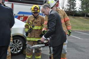 Volkswagen of America, Inc. Donates Vehicles to Sterling Fire Company and Sterling Volunteer Rescue Squad to Help Save Lives