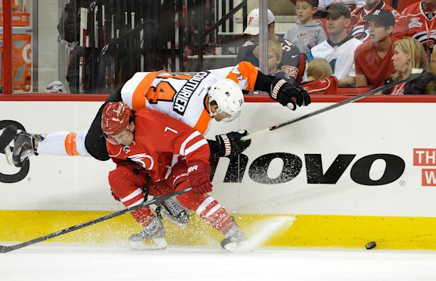 Philadelphia Flyers v Carolina Hurricanes
