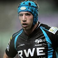 Justin Tipuric scored one of four tries for Ospreys