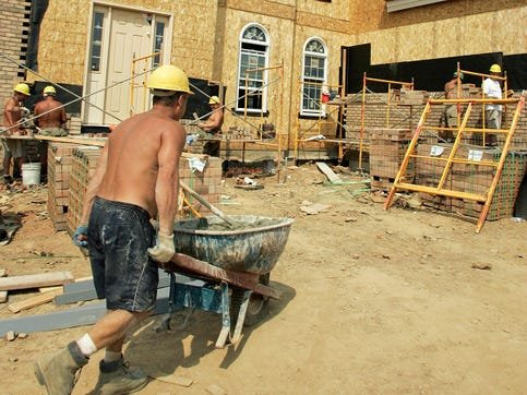 toll brothers construction workers