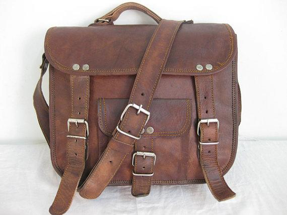 Leather Messanger Bag