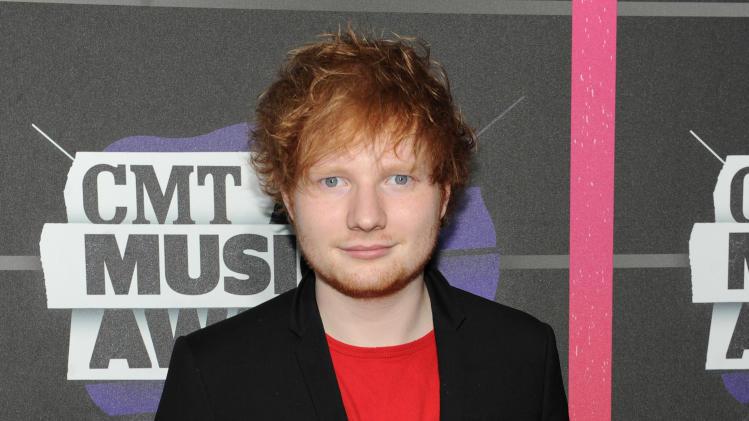 British singer Ed Sheeran now calls Nashville home