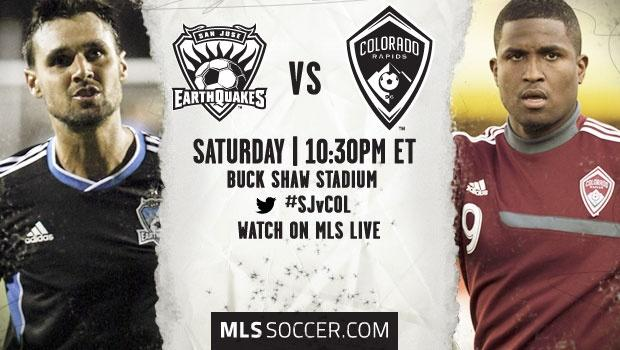 San Jose Earthquakes vs. Colorado Rapids | MLS Match Preview