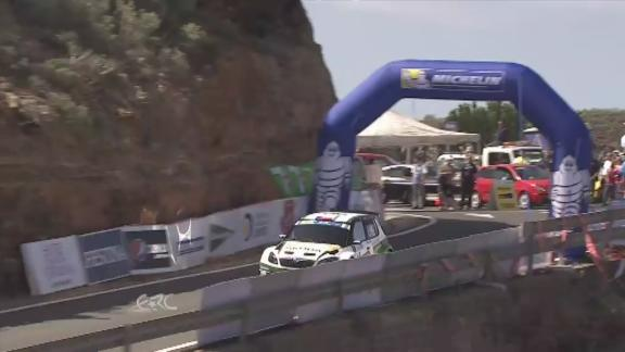 ERC CANARIAS Jan Kopecky in action