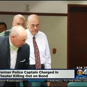 Fmr. Florida Police Captain Charged In Deadly Movie Theater Shooting Out On Bond