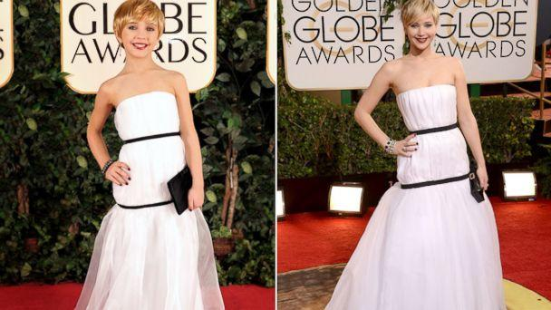 Celebrity Mini-Mes Take Golden Globes Red Carpet by Storm