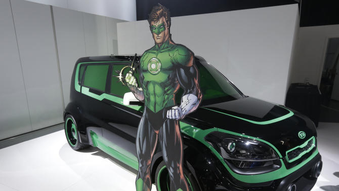 Super hero-themed vehicles promote fighting hunger
