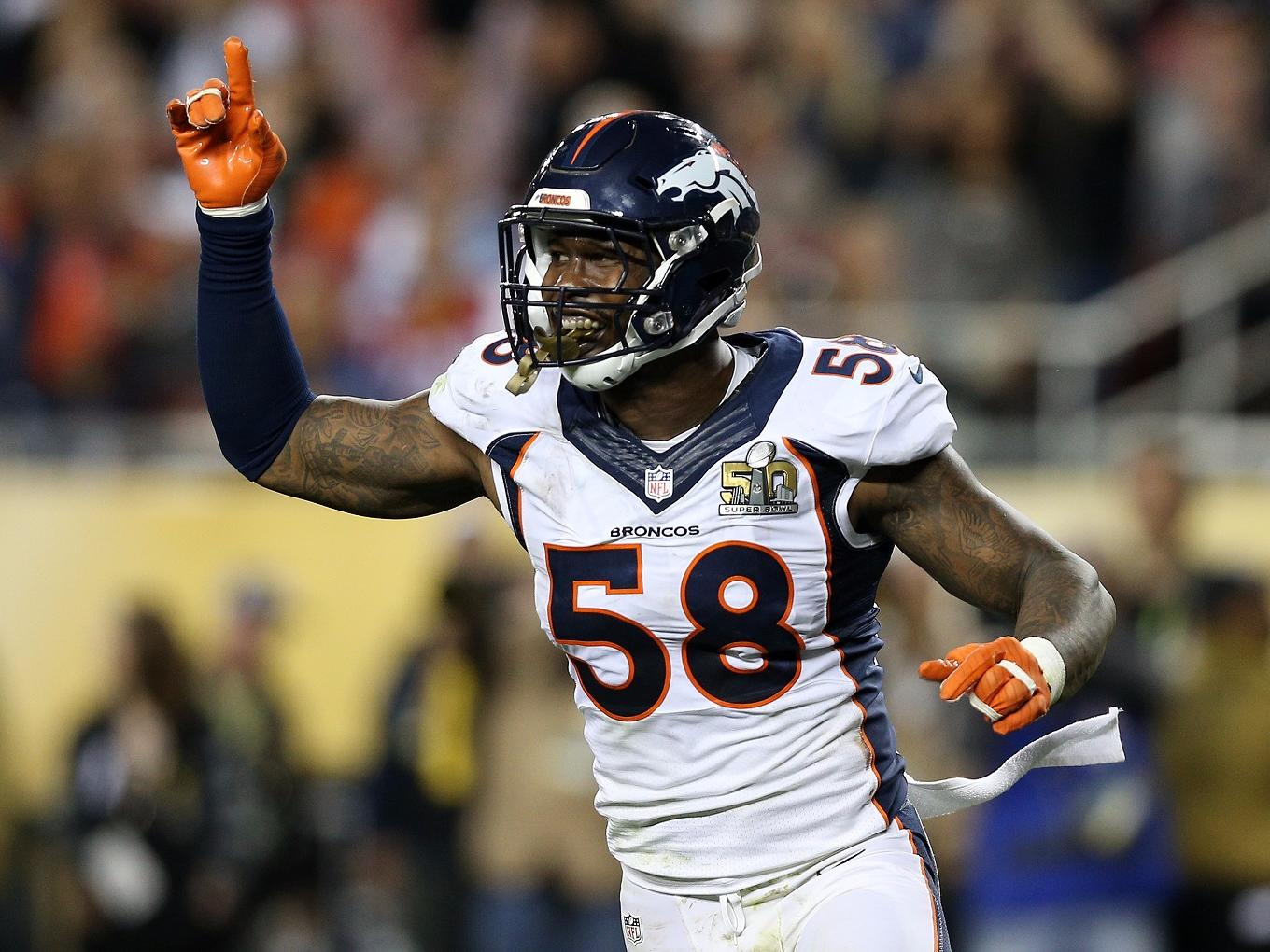 Super Bowl MVP Von Miller cut out red meat, sports drinks, and junk food in the offseason to terrorize quarterbacks even more