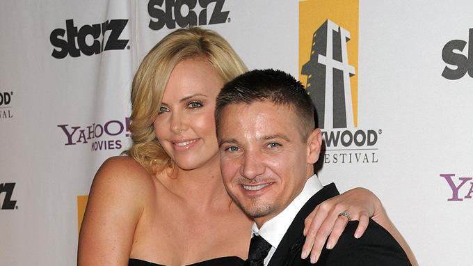 13th Annual Hollywood Awards Gala 2009 Charlize Theron Jeremy Renner