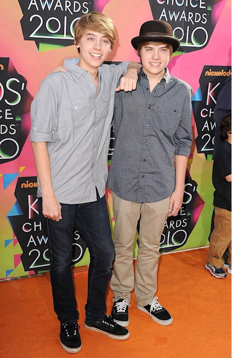 Sprouse Cole Dylan Kids Choice Awards