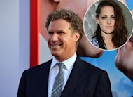 Will Ferrell arrives at the premiere of &#39;The Campaign&#39; at Grauman&#39;s Chinese Theatre in Hollywood, Calif. on August 2, 2012 / inset: Kristen Stewart -- Getty Images