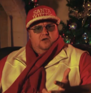 Kim Dotcom taunts his adversaries in new 'MegaChristmas' pageant