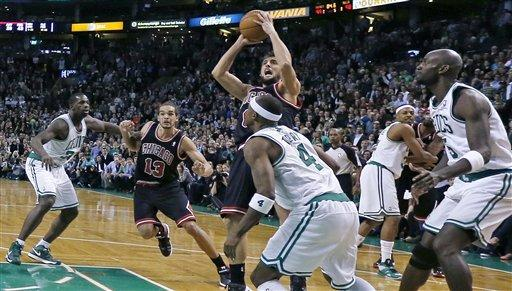 Bulls extend Friday road show, beat Celtics in OT