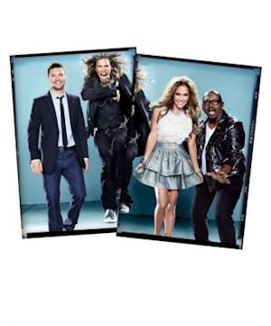 "Ryan Seacrest, Jennifer Lopez, Steven Tyler and Randy Jackson -- ""American Idol"" Season 10 -- FOX"