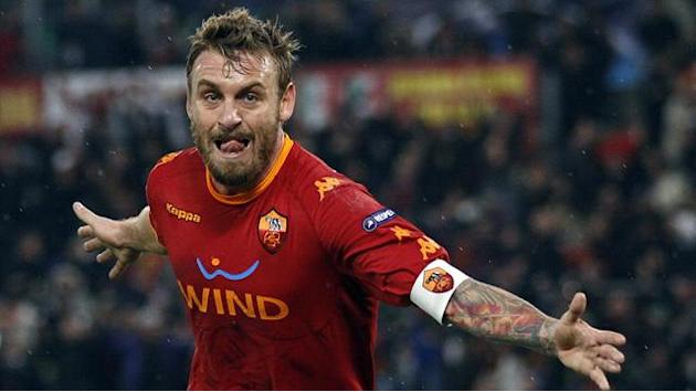 Serie A - De Rossi misses Roma trip to Napoli after appeal rejected