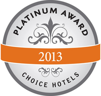 Choice Hotels International 2014 Platinum Award