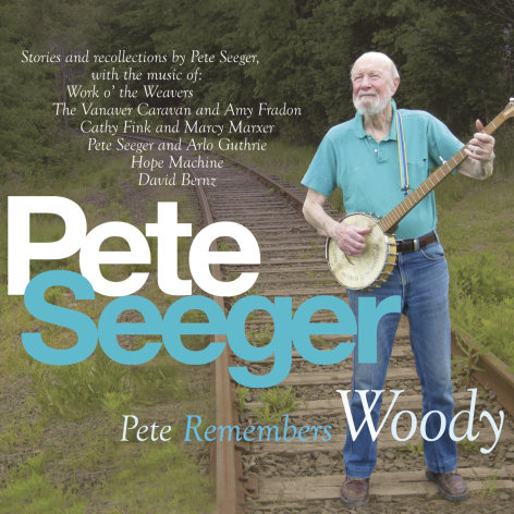 "This CD cover image released by Appleseed Recordings shows ""Pete Remembers Woody,"" one of two releases by Pete Seeger. (AP Photo/Appleseed Recordings)"