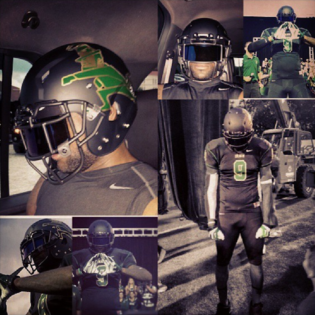 The new St. Vincent-St. Mary uniforms, courtesy LeBron James — Instagram
