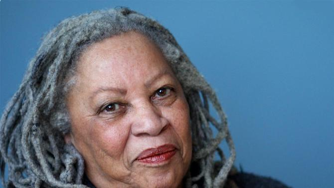 A 2012 photo released by Alfred A. Knopf,  shows author Toni Morrison.  As she gets older, Morrison says, the world becomes more interesting and more distressing.  (AP Photo/Alfred A. Knopf)