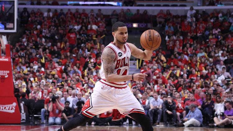 NBA: Playoffs-Washington Wizards at Chicago Bulls