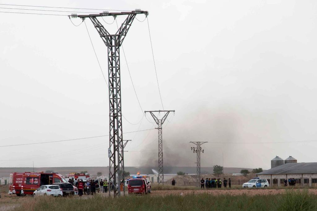 Five dead in explosion at Spain fireworks factory
