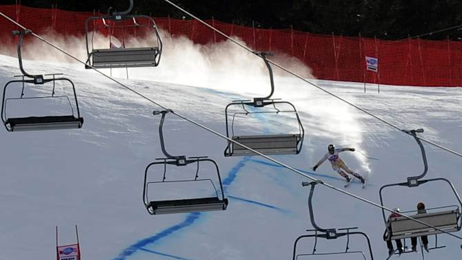 The men's World Cup downhill event in Bormio will not take place this season for the first time in two decades because of a dispute with the company that operates the ski lifts, the Italian Winter Sports Federation confirms