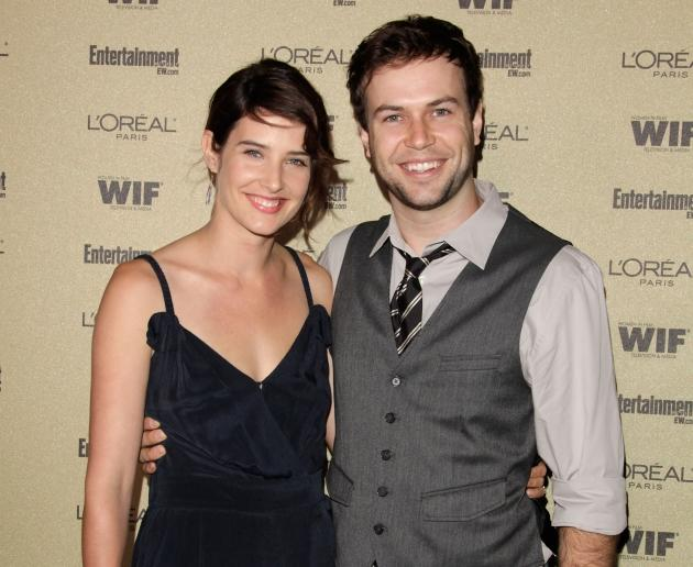 Cobie Smulders and Taran Killam arrive at the 2010 Entertainment Weekly and Women In Film Pre-Emmy party sponsored by L'Oreal Paris at Restaurant at The Sunset Marquis Hotel in West Hollywood on August 27, 2010  -- Getty Premium