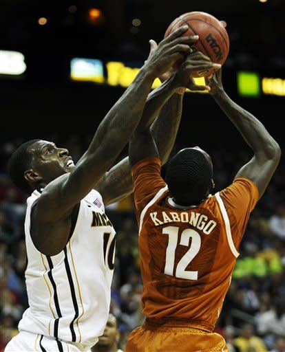 Pressey, English lead No. 5 Missouri past Texas