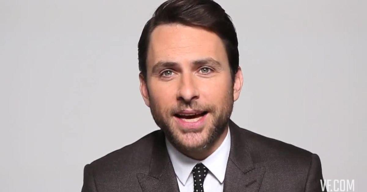 What Was Charlie Day's First Job in Hollywood?