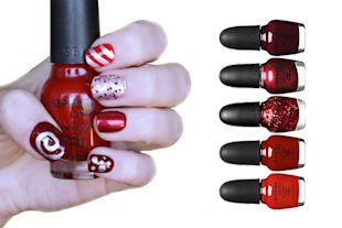 5 Fabulously Festive DIY Nail Designs: Candy Land