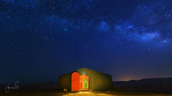 Meteor Over Morocco Captured in Stunning Photo
