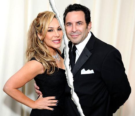 Real Housewives of Beverly Hills' Adrienne Maloof, Paul Nassif