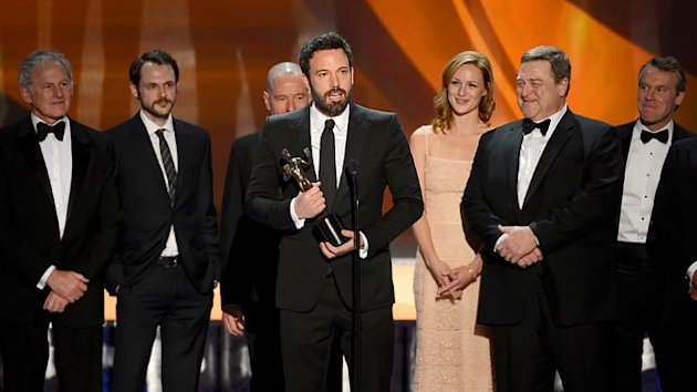 'Argo' and 'Abbey' Upset Competition at SAG Awards