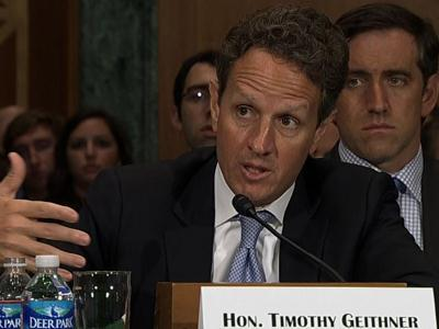 Geithner unsure if Citi, BofA, JPM in LIBOR fix