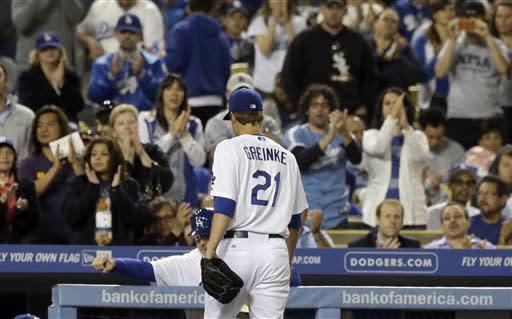 Dodgers beat Nationals 3-1 in Greinke's return
