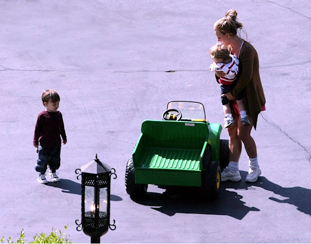 Spears Britney With Kids