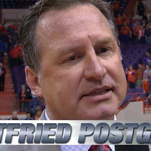 NC State's Mark Gottfried Talks Important Win Over Clemson