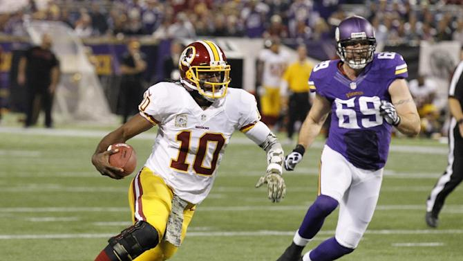 5 things to know after Vikings rally past Redskins