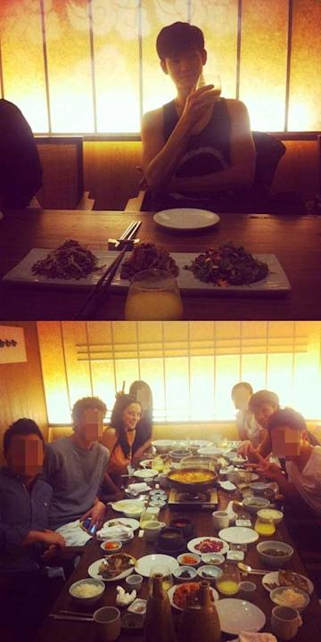 Kim Soo Hyun Shares a Meal Together With His Ideal Woman Kaya Scodelario
