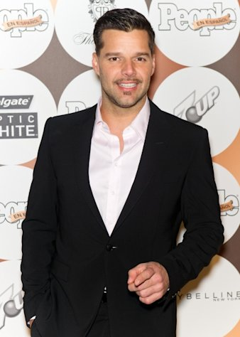 Ricky Martin seen looking dapper at the 16th annual People en Espanol &#39;50 Most Beautiful&#39; issue celebration at The Plaza Hotel in New York City on May 15, 2012 -- Getty Premium