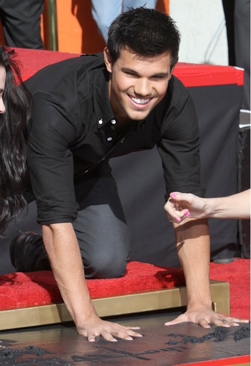 Twilight Cast Hand and Footprint Ceremony at Grauman's Chinese Theatre in Hollywood on November 3, 2011