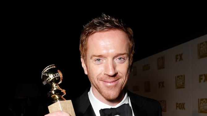 IMAGE DISTRIBUTED FOR FOX SEARCHLIGHT - Actor Damian Lewis attends the Fox Golden Globes Party on Sunday, January 13, 2013, in Beverly Hills, Calif. (Photo by Todd Williamson/Invision for Fox Searchlight/AP Images)