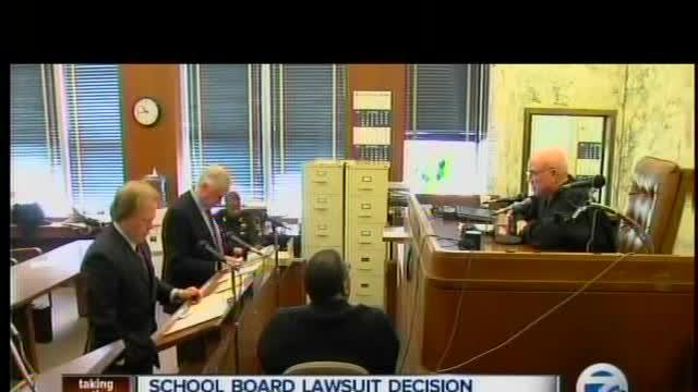 School board lawsuit decision delayed