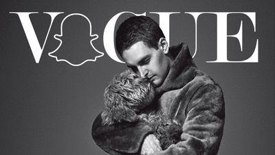 Snapchat's CEO Covers L'Uomo Vogue