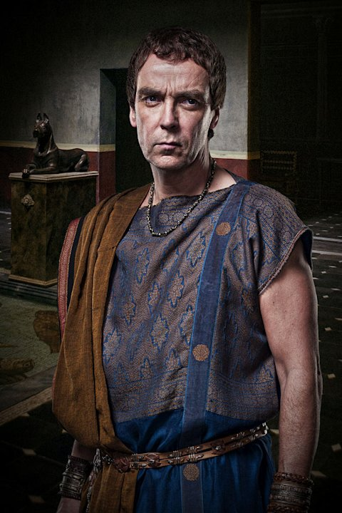 John Hannah as Batiatus in &quot;Spartacus: Gods of the Arena.&quot; 