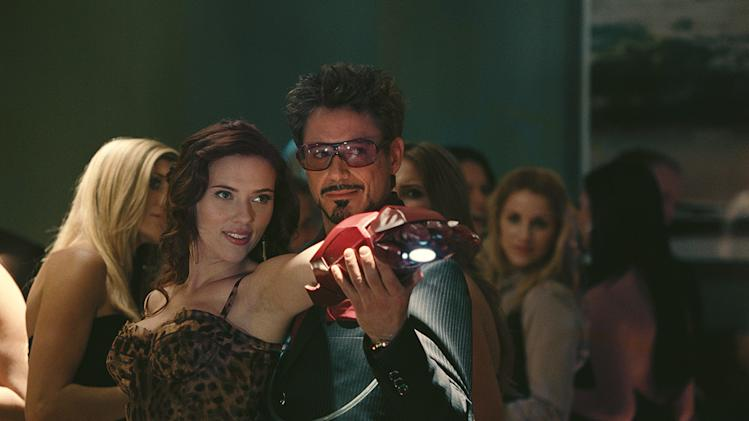 Iron Man 2 Stills Paramount Pictures 2010 Scarlett Johansson Robert Downey Jr.