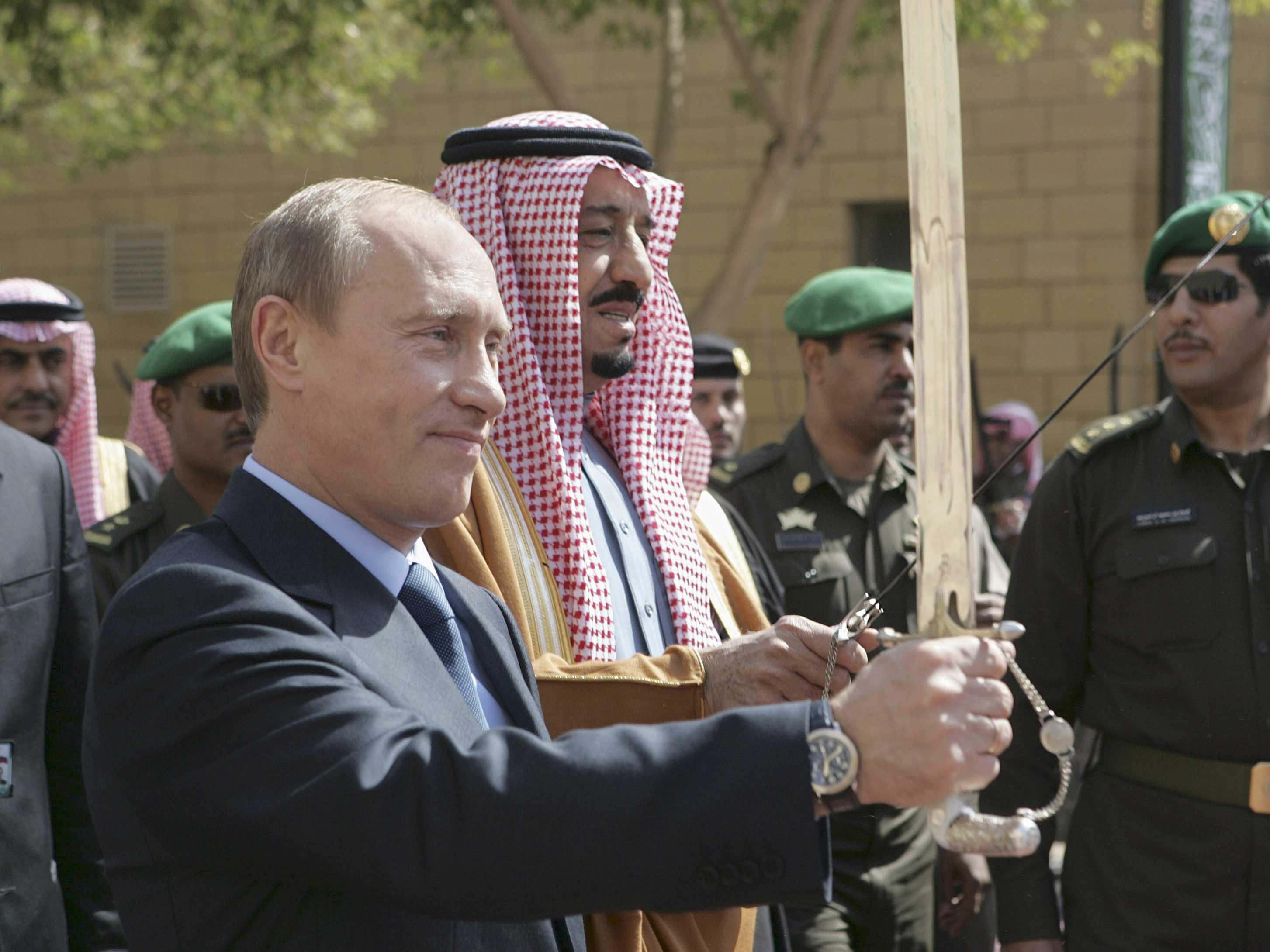 Russia isn't letting OPEC take it down without a fight