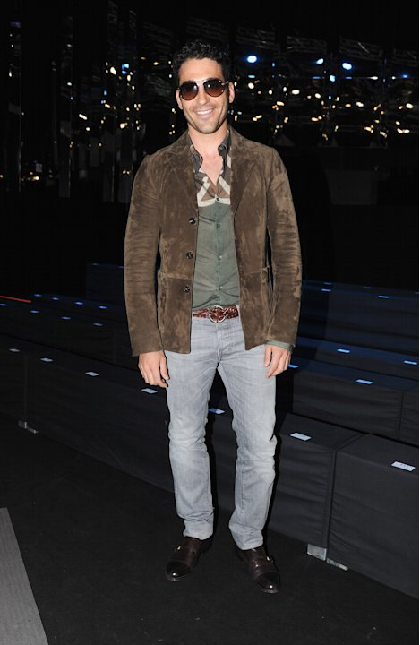 Roberto Cavalli: Front Row - Milan Fashion Week Menswear Spring/Summer 2013